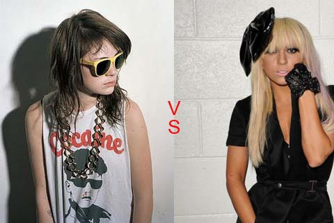 lady gaga vs uffie